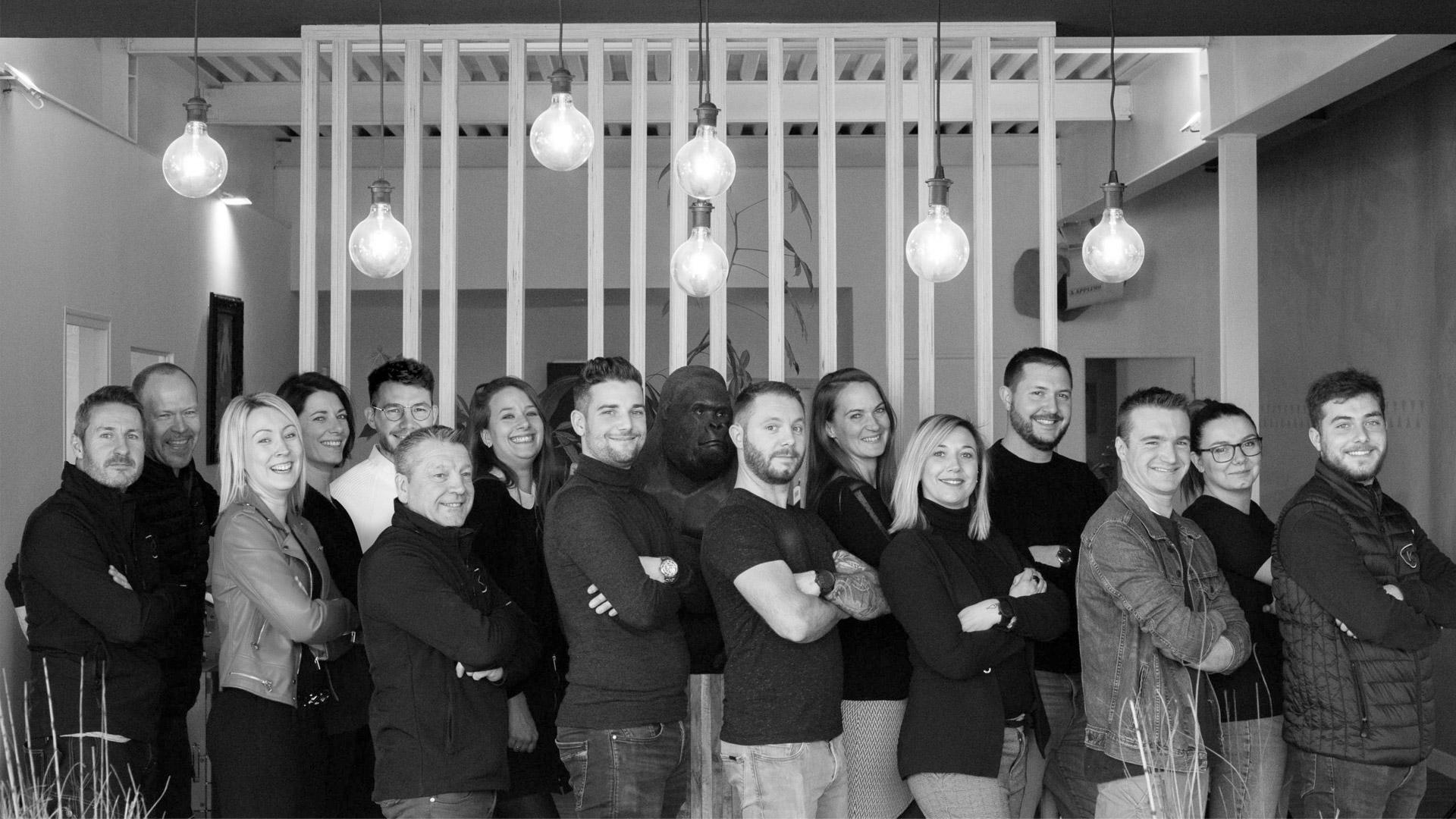 klik studio enseigne et publicite equipe
