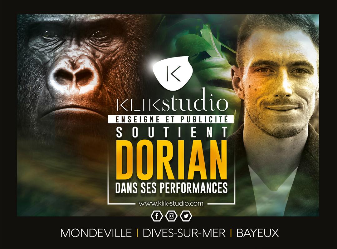 Kli studio soutient dorian dans ses performances