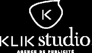 logo Klik studio communication caen enseigne et publicite