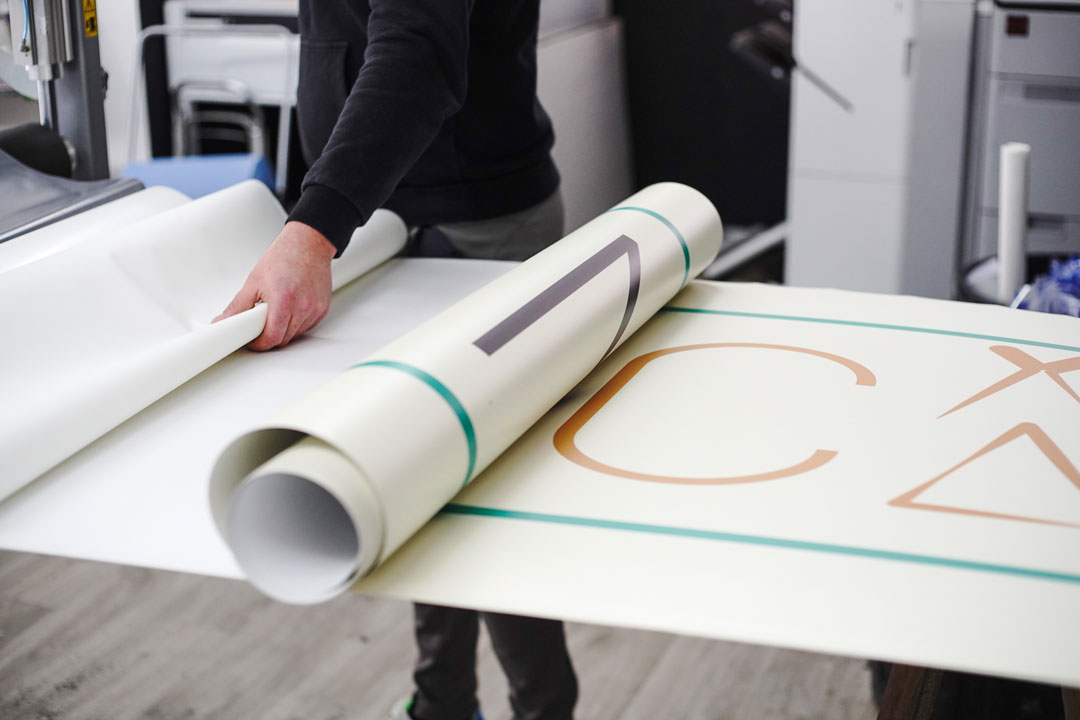 Impression panneau grand format à Caen chez Klik Studio