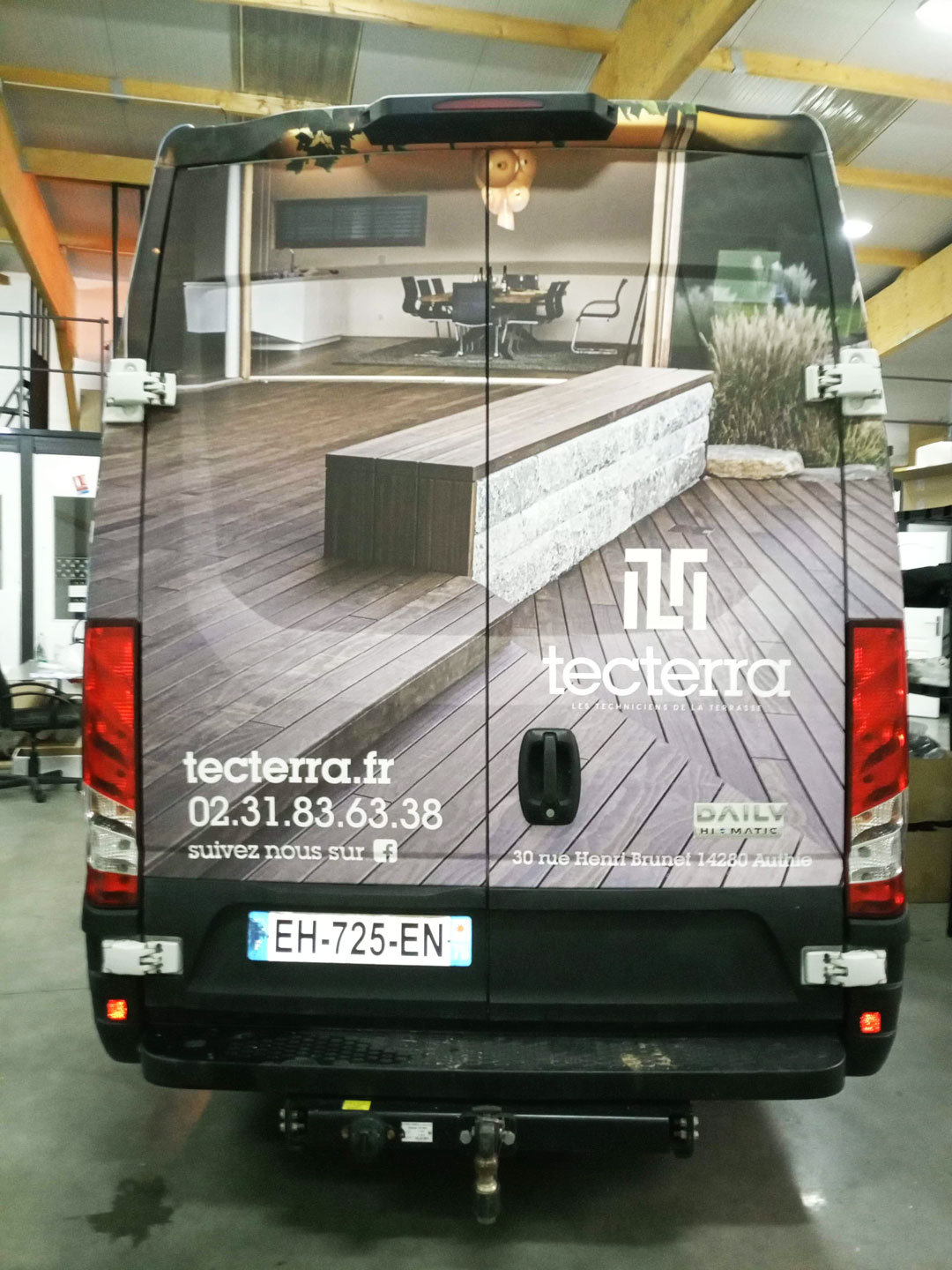Marquage vehicule caen total covering