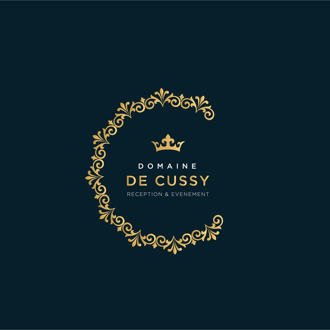 Creation graphique caen creation logo domaine de cussy