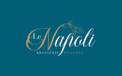 Création de logo pour Le Napoli à Caen
