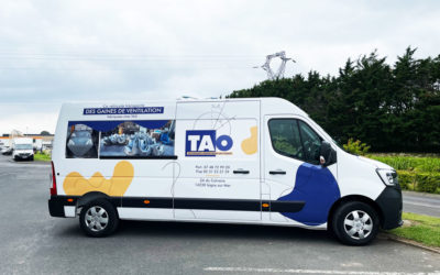 Marquage vehicule pour TAO Isigny sur Mer